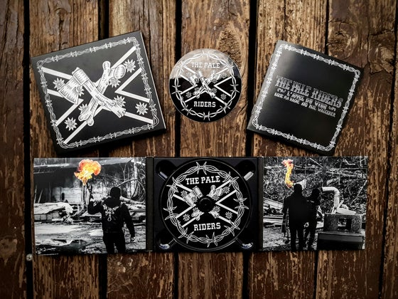 Image of B.M.H & P.W: THE PALE RIDERS - digipack CD