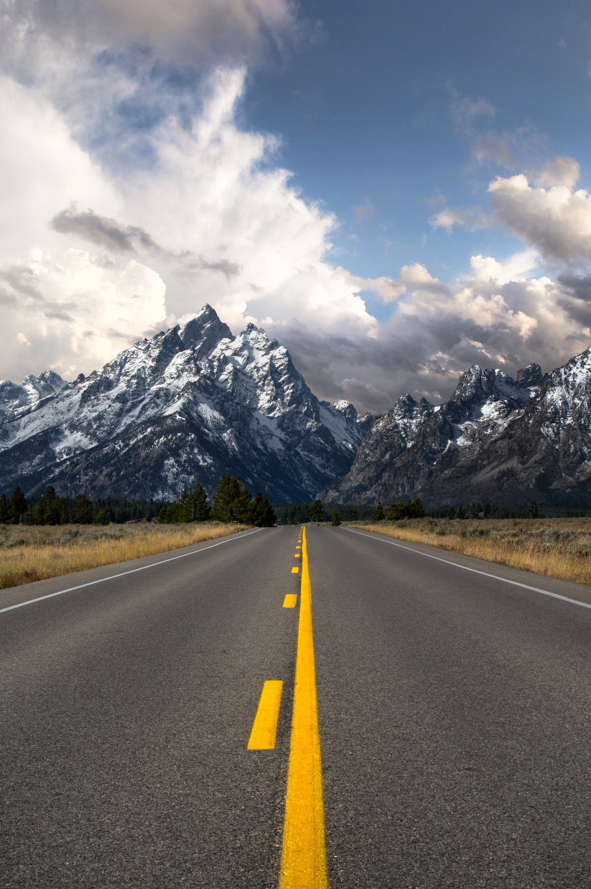 Image of Road to the Tetons
