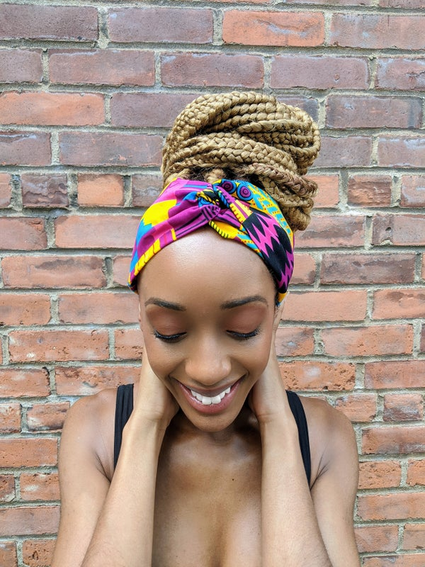 "Image of ""Akonandi"" Twisted Headband"