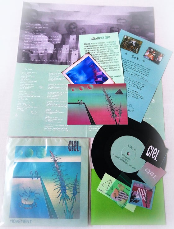 Image of BBR#36 CIEL 6 track limited edition 'Movement' E.P