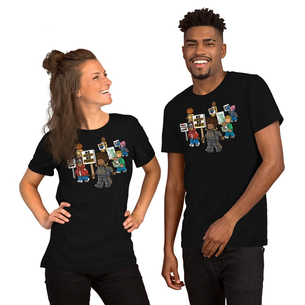 People of Color Protest ADULT T-Shirt