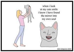 Image of Cats Smile