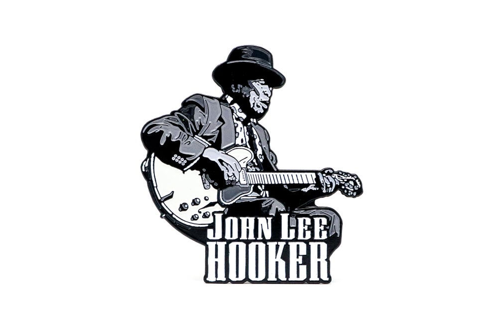 Image of John Lee Hooker Enamel Pin
