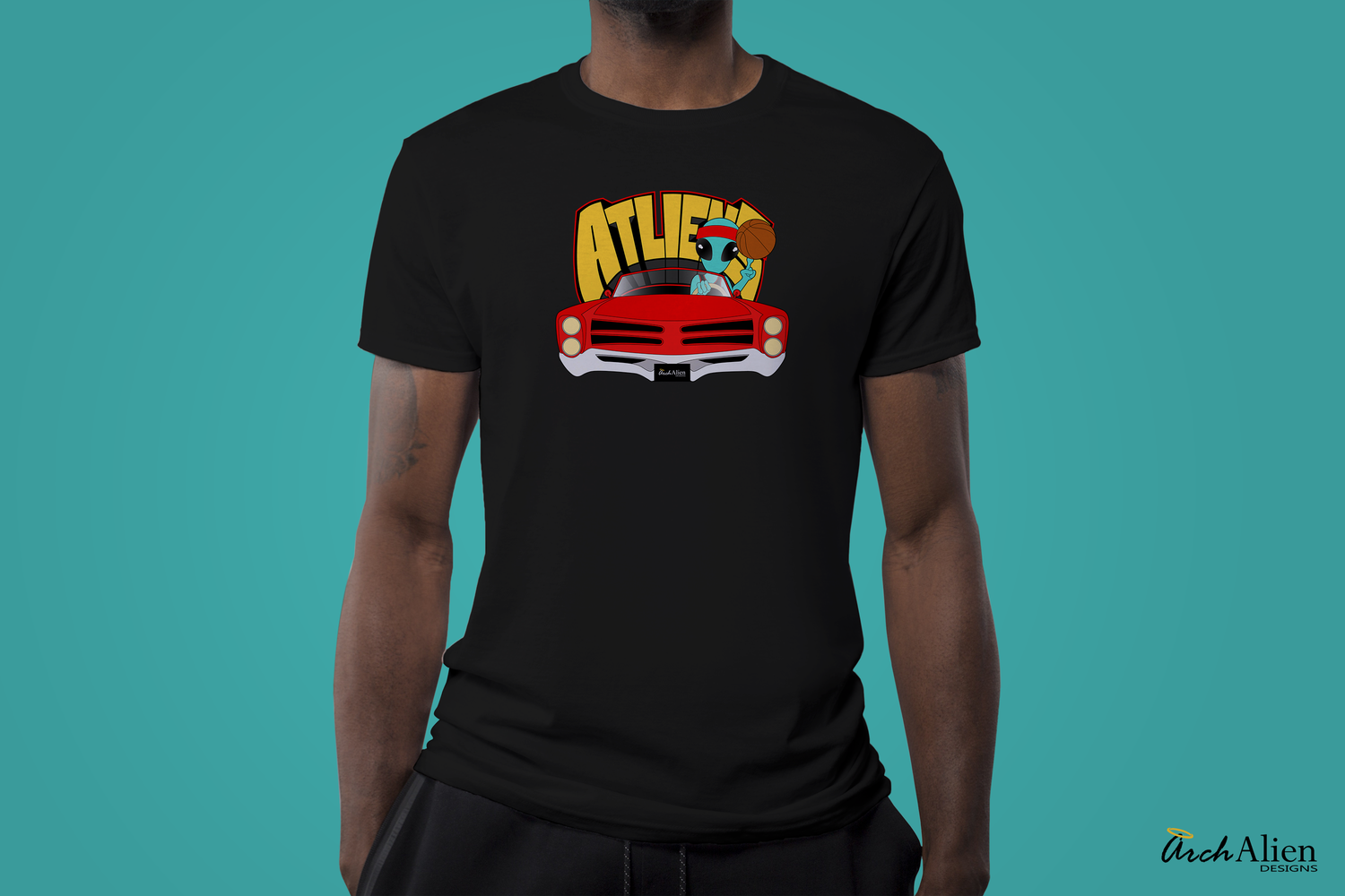 Image of ATLiens Basketball Club (T-Shirt)