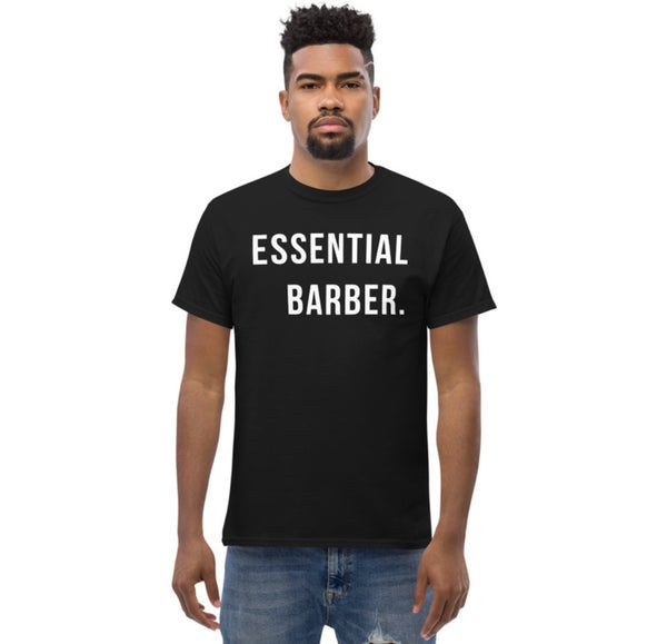 """Image of """"Essential Barber"""" Official T-shirt!"""