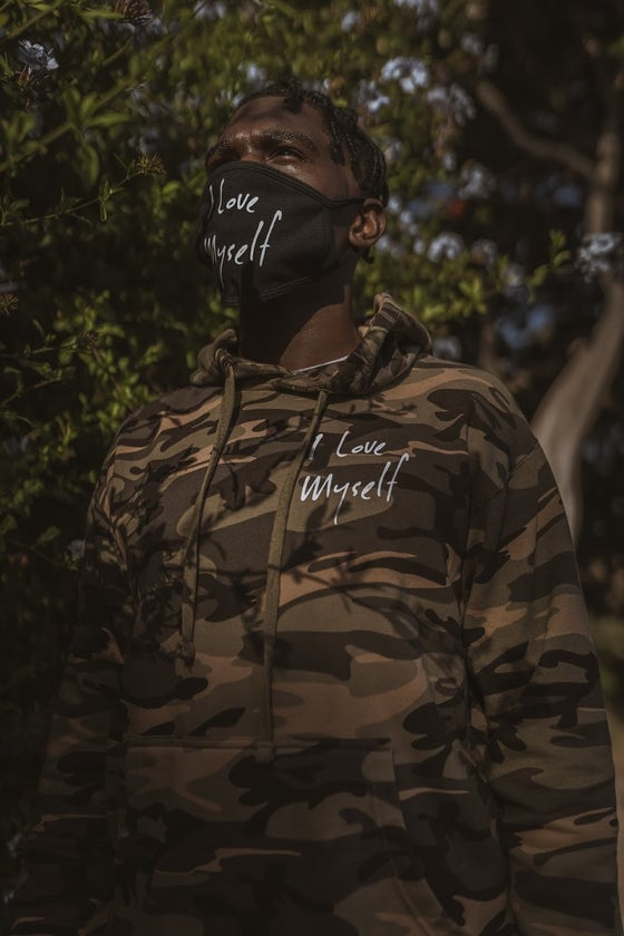 Image of *New Exclusive Camo ILoveMyself Hoodie