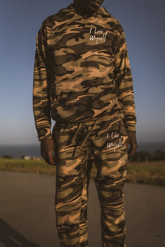 Image of *New Exclusive Camo Joggers
