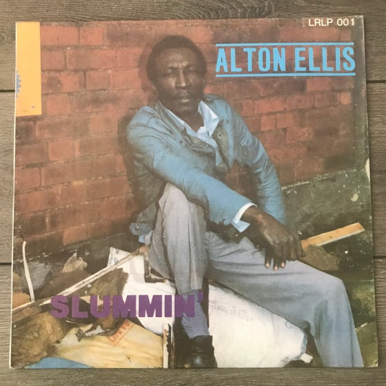 Image of Alton Ellis - Slummin Vinyl LP