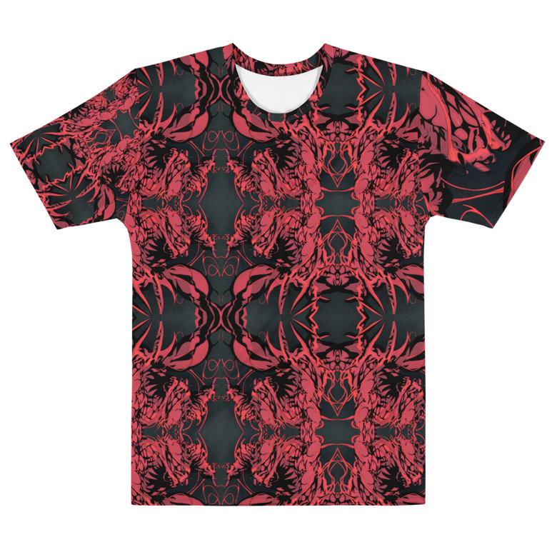 Image of syymbiote psychedelia all over print t-shirt