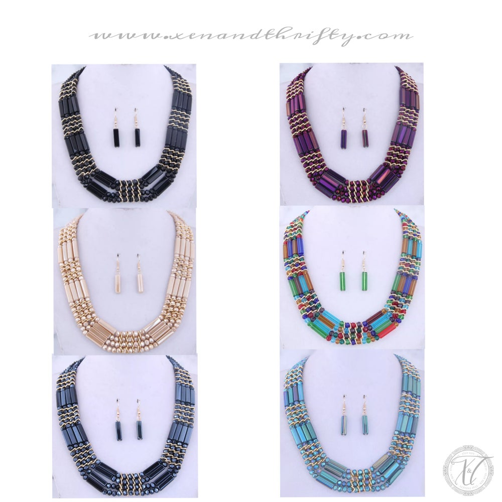 Image of Tahari Necklace set
