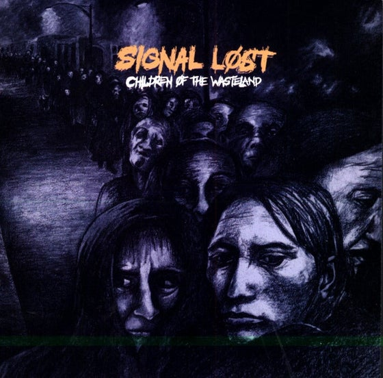 """Image of SIGNAL LOST - """"Children of the Wasteland"""" LP"""