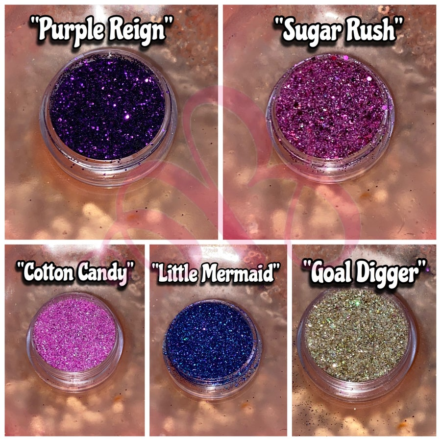 Image of $1 GLITTER SALE (NEW SHADES)