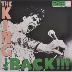 Image of LP. The Cramps : The King Is Back     (USA pressing).