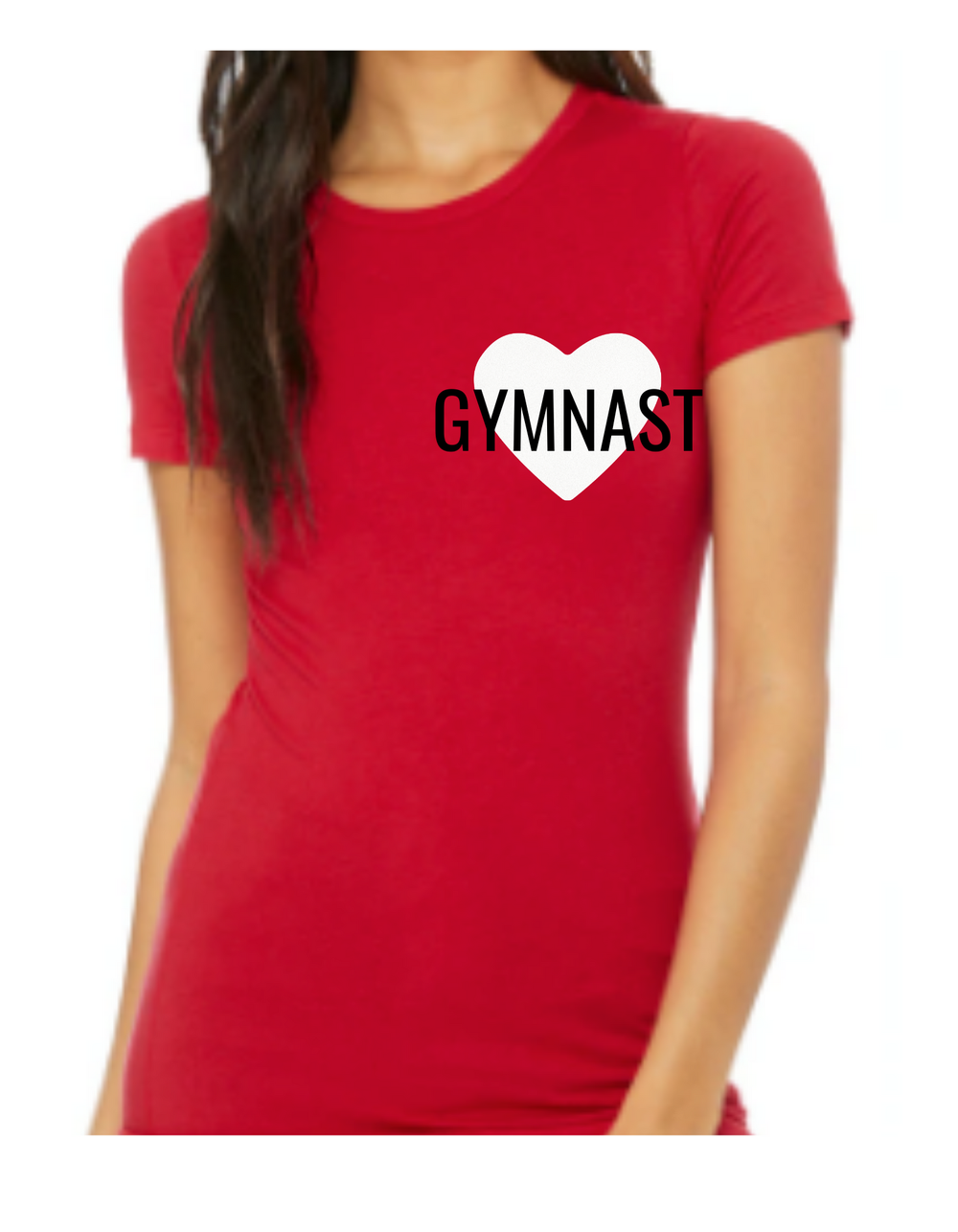 """I """"heart"""" Gymnast Pink or Red"""