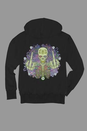 Image of Pitch Skull Zip Hoodie