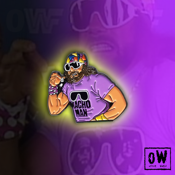 Image of Macho Madness lapel pin