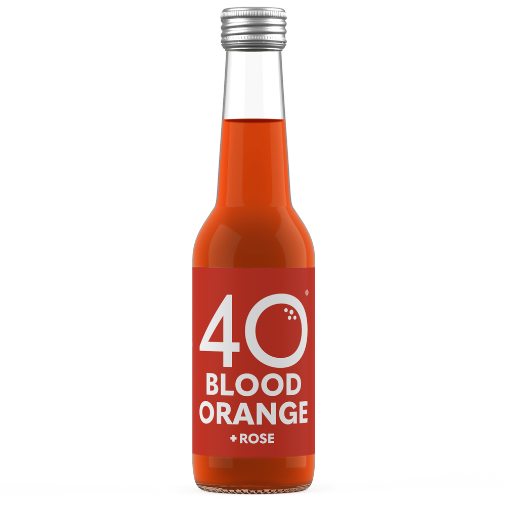 Image of 12x 275ml 40 Blood Orange + Rose