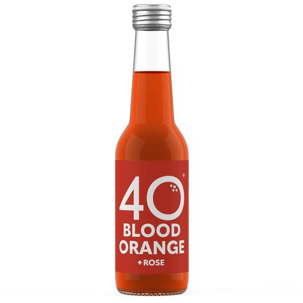 Image of 12x 275ml 40 Blood Orange + Rose