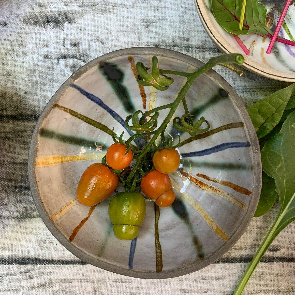 Small bowl, rainbow radiance, anthracite