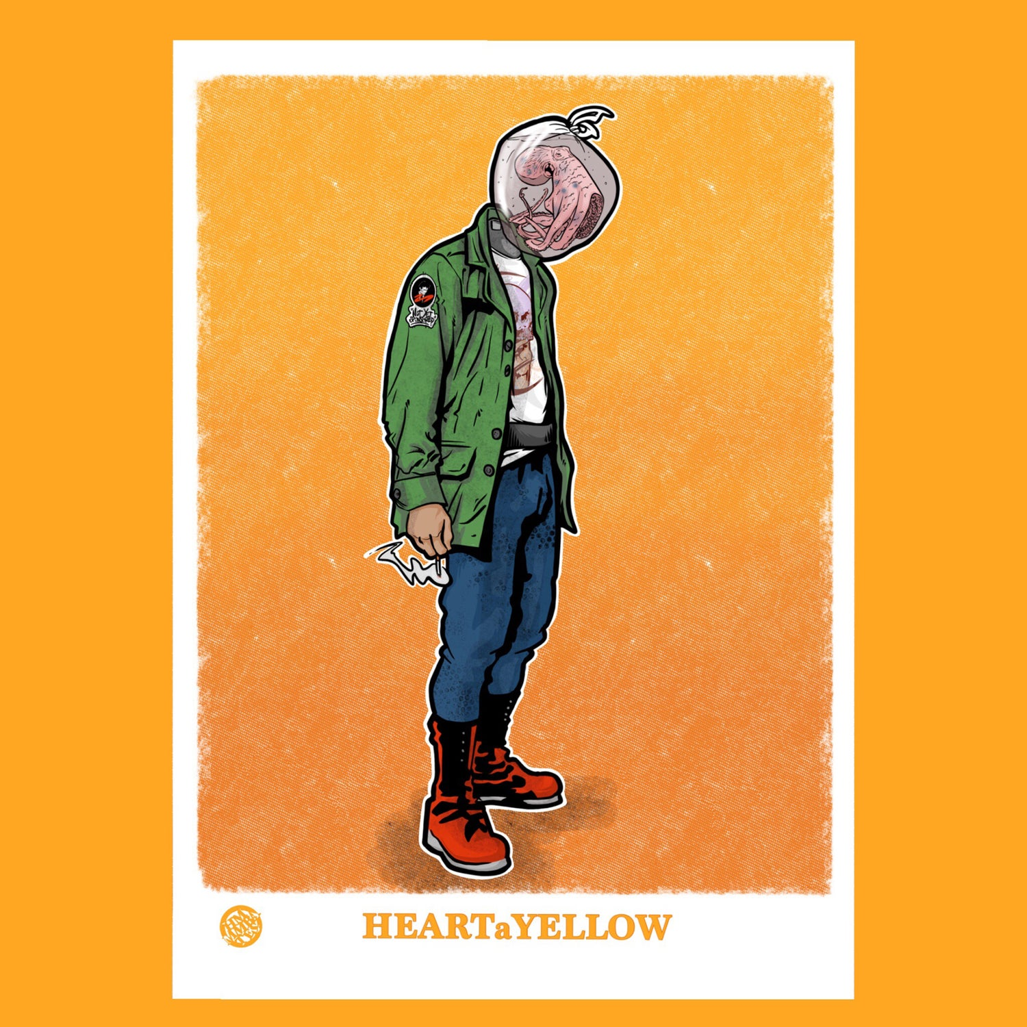 Image of HEARTaYELLOW poster