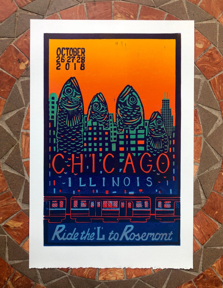 Image of Rosemont Redux prints