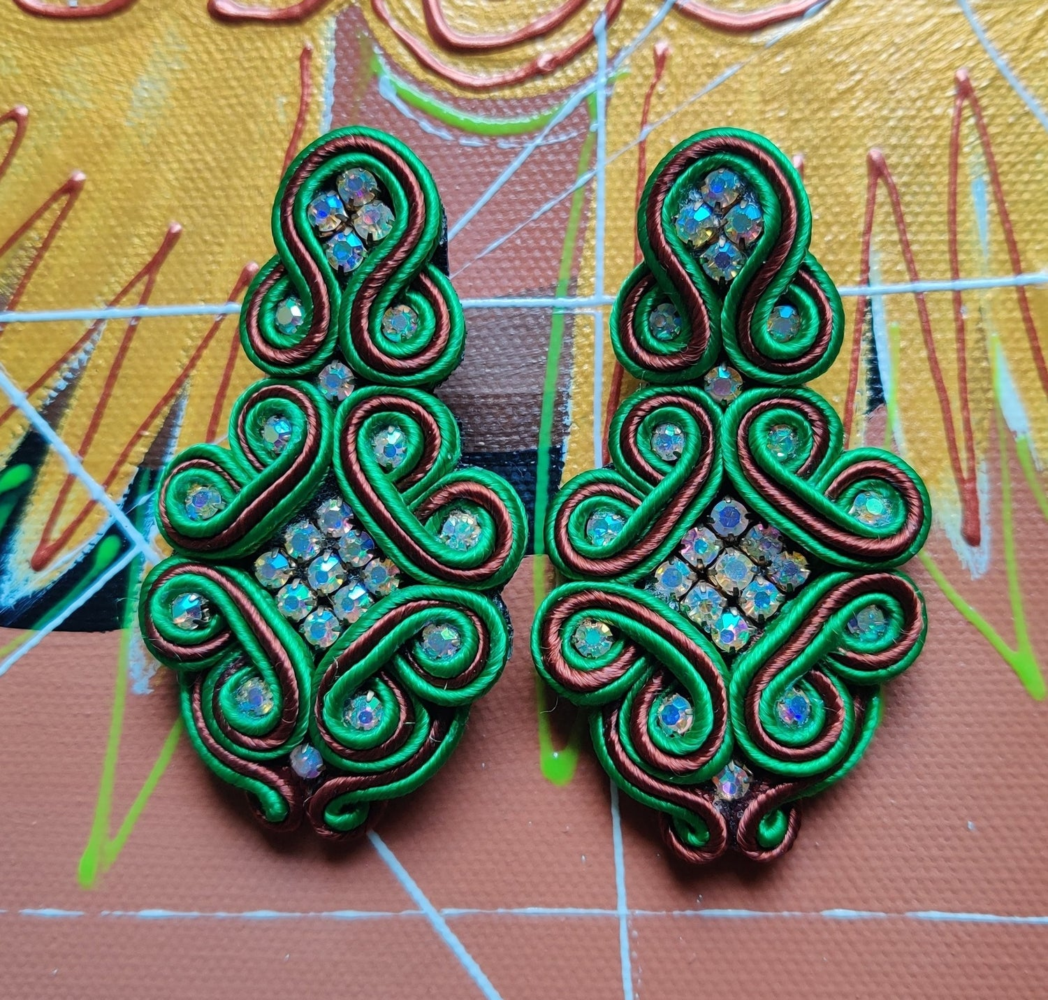 Image of Viper Earrings