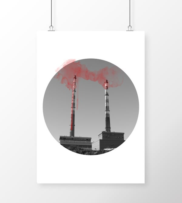 Image of Poolbeg Chimneys