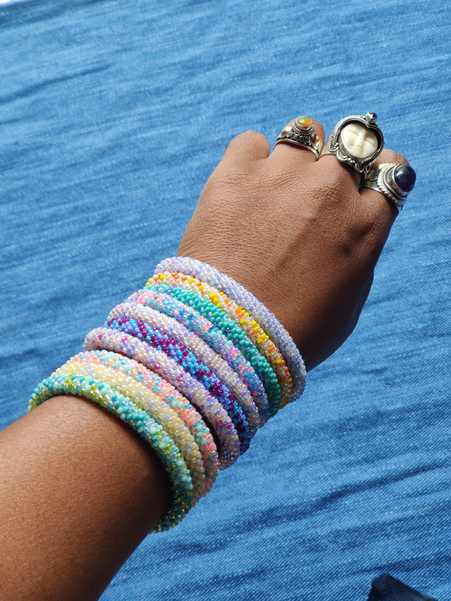 Image of Nepalese Roll On Bracelet (Our Pick)