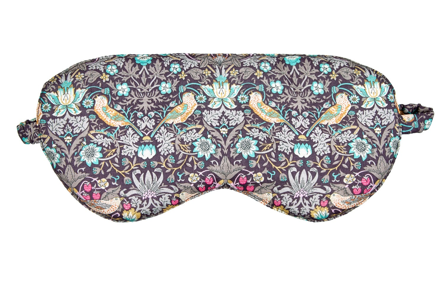 Image of Sleep mask / Birds and Strawberries / Chocolat