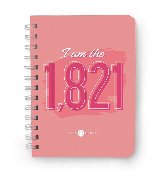 """Image of """"I Am The 1,821"""" Notebook"""