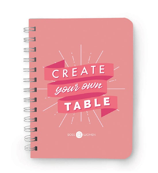 """Image of """"Create Your Own Table"""" Notebook"""