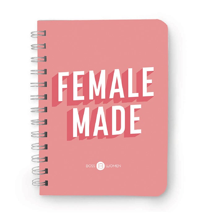 """Image of """"Female Made"""" Notebook"""