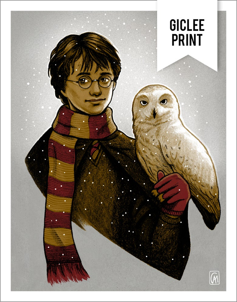 Image of HARRY POTTER - GICLEE - 11x14