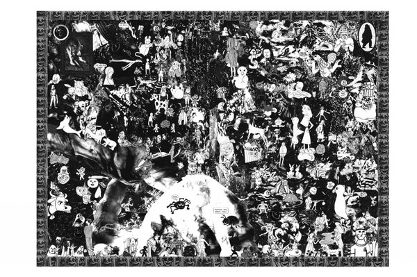 Image of Double sided 258 piece puzzle by Kyle Good  !