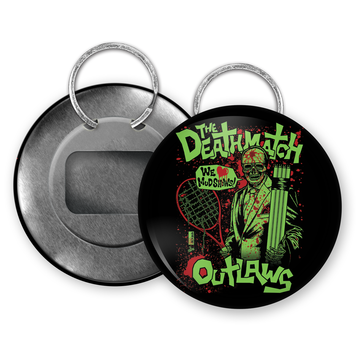 Image of Deathmatch Outlaws Bottle Opener