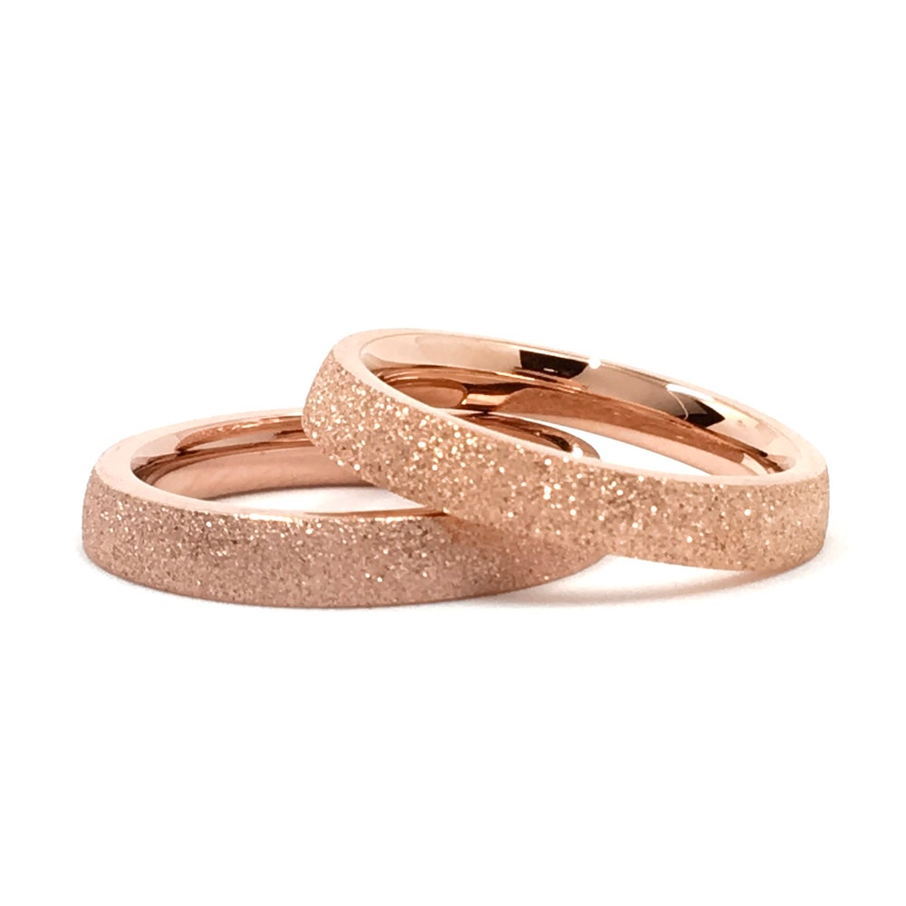 Image of Steckring TWINS STARDUST Rosegold
