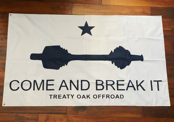 Image of Come and Break It Flag