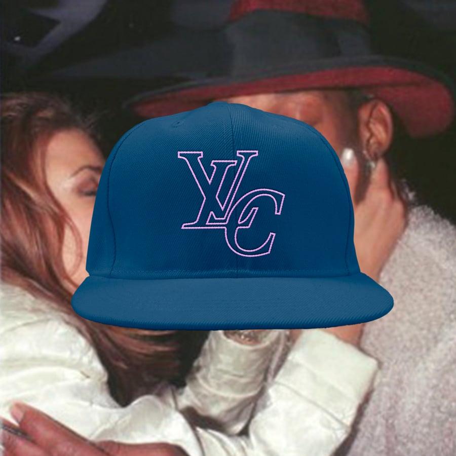 Image of LvC Premium Snapback (NAVY/PINK)