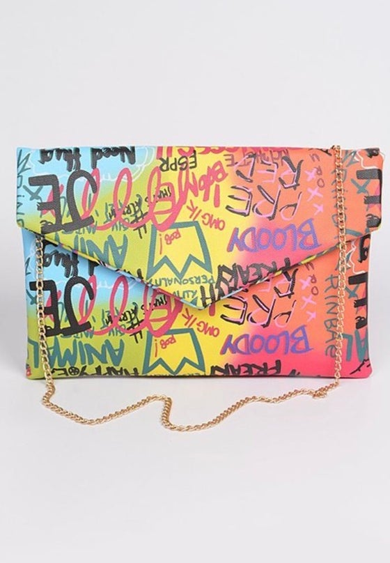 Image of Graffiti Clutch