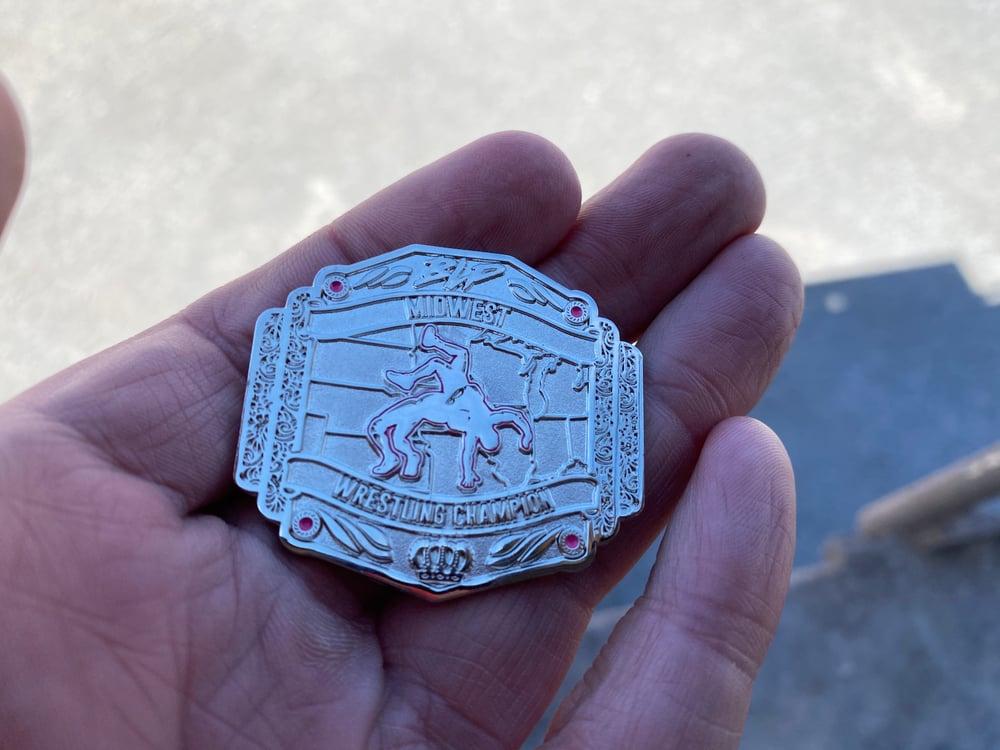 BLP Midwest Championship pin