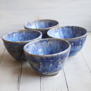 Image of Reserved for Livia, Custom Set of Four Noodle Bowls, Made in USA