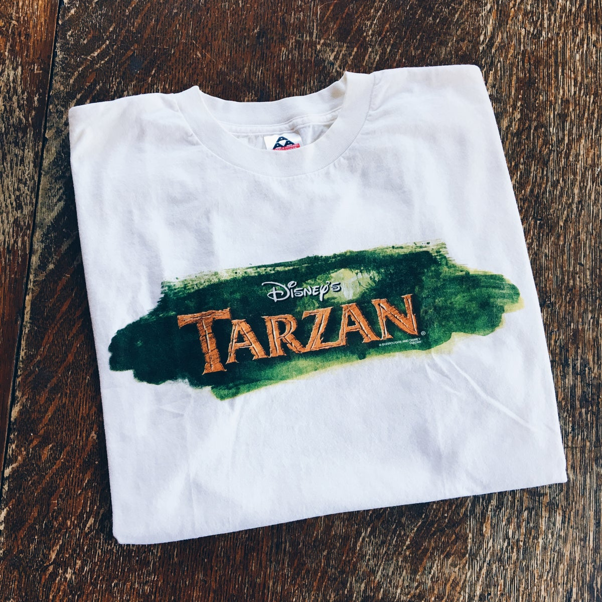 Image of Original 1999 Disney Tarzan Promo Tee.