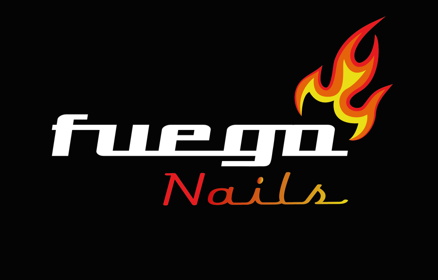Image of FUEGO NAILS Sticker