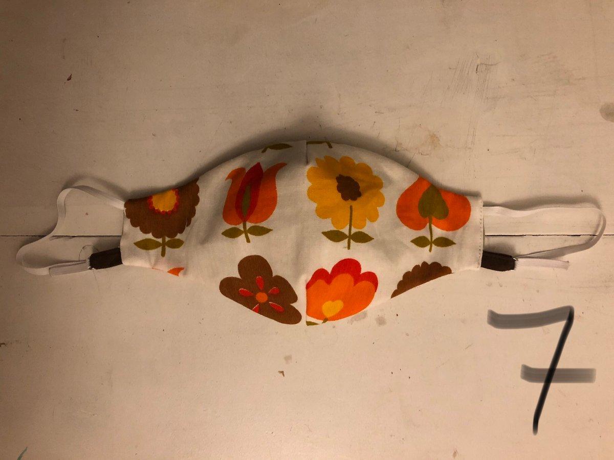 Image of Mundbind - blomster (flere varianter)