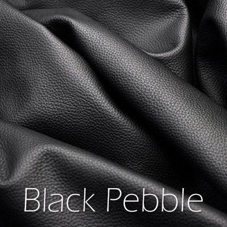 """Image of Leather Shoulder Bag/Purse Strap - Choose Color & Finish - 30"""" Length, 1/2"""" Wide, #16 U-shape Hooks"""