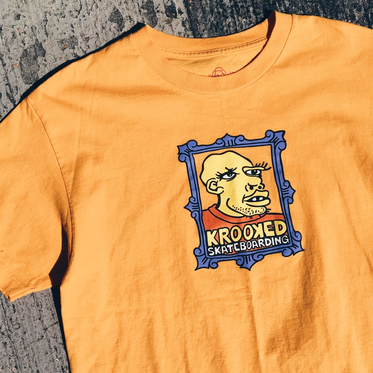 "Image of Krooked Gonz ""Frame Face"" Tee."