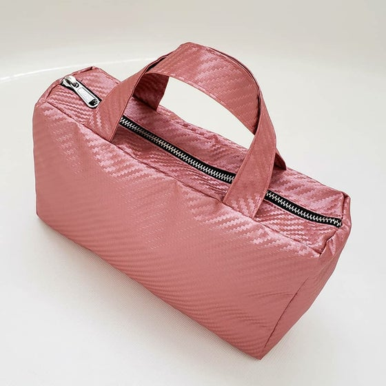 Image of Pink Carbon Fiber Handbag