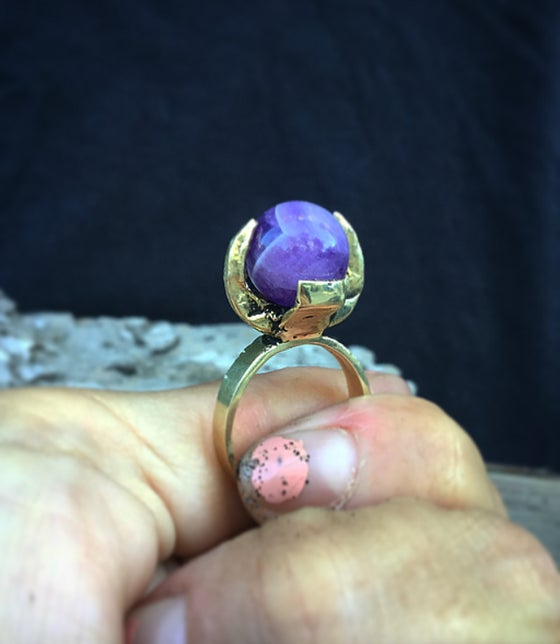 Image of Sight-Seer Ring Amethyst