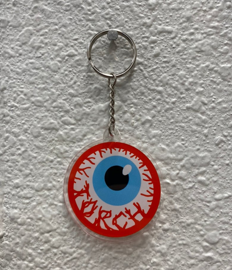 Image of Toxic Eye Keychain