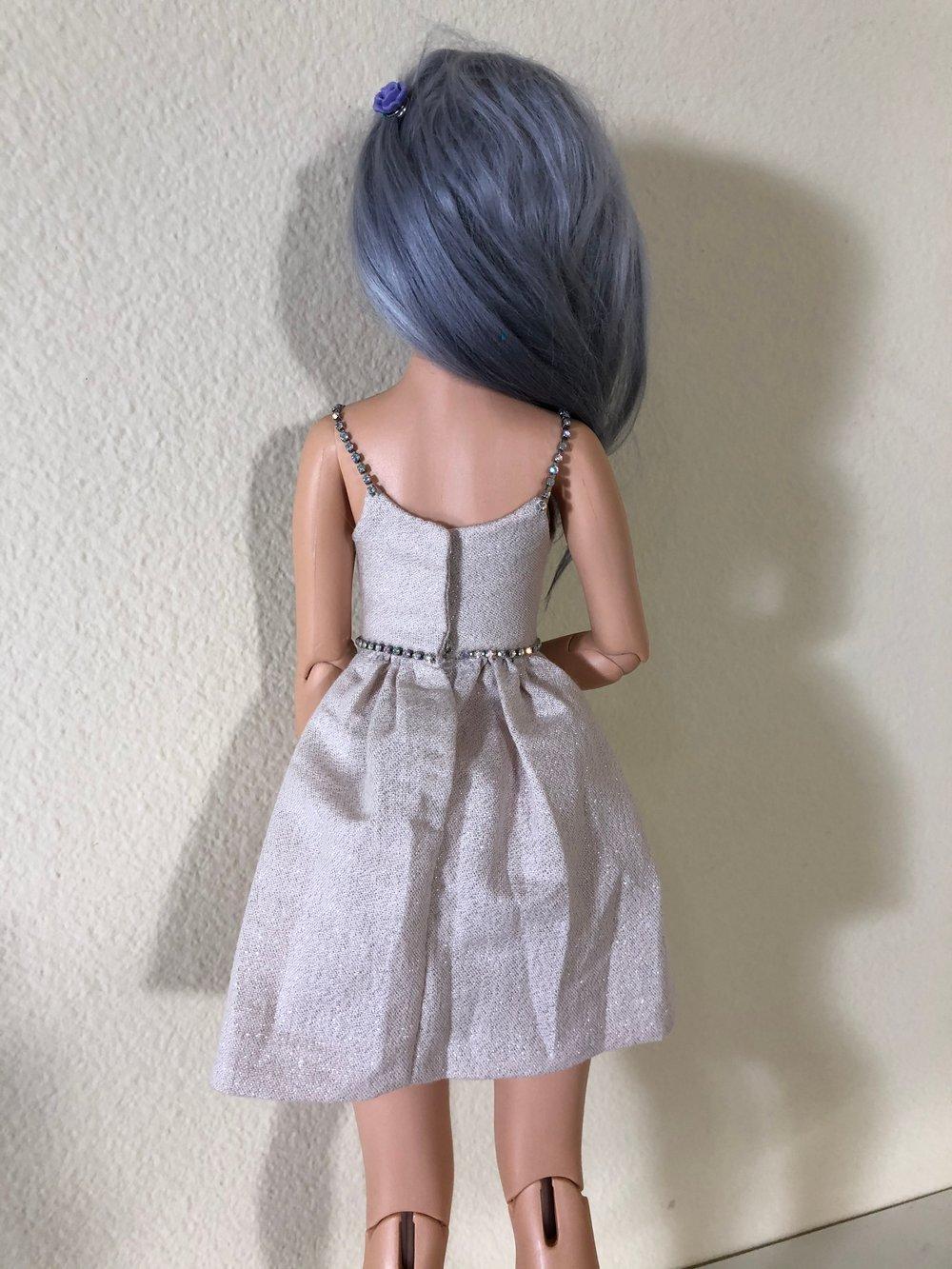 Blush sparkle party dress: Unoa
